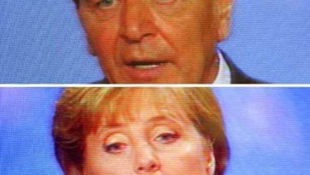 Kanzler trifft Kandidatin: Wer hat was gesagt?