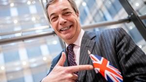 Nigel Farage will seine Brexit-Partei zur Anti-Lockdown-Partei machen