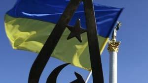 Kulturgrenze auf Kiews Prachtstraße
