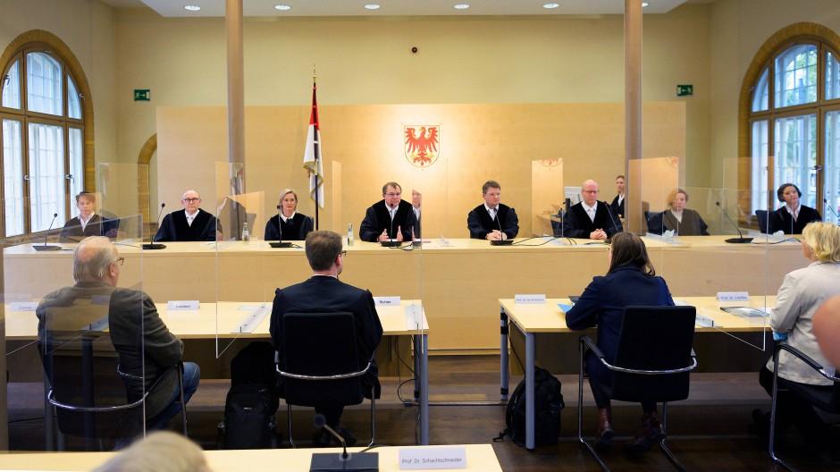 Das brandenburgische Landesverfassungsgericht hat am Freitag das Paritätsgesetz des Landes gekippt.