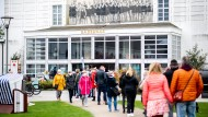 Bald nur noch für Selbstzahler? Corona-Testcenter im Badehaus auf Norderney