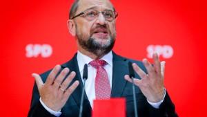 """SPD-Chef Schulz laut Umfrage """"Verlierer des Jahres"""""""