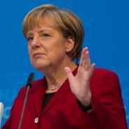 Bundeskanzlerin Angela Merkel (CDU) sieht Integration von Einwanderern als nationale Aufgabe und Chance für Wachstum