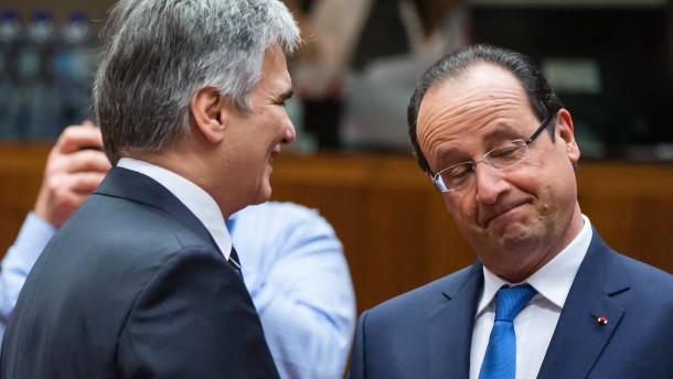 Präsident Hollande entschuldigt sich für Scherz