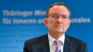 Thüringens Innenminister Poppenhäger tritt zurück