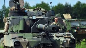 Zehntausende Soldaten gegen die Angst