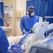 In Großbritannien außer Kontrolle: Intensivstation mit Covid-Patienten in Whiston