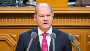 Scholz attackiert politische Linke in Hamburg