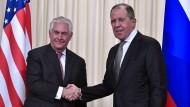 Tillerson will auf russische Strafmaßnahmen reagieren