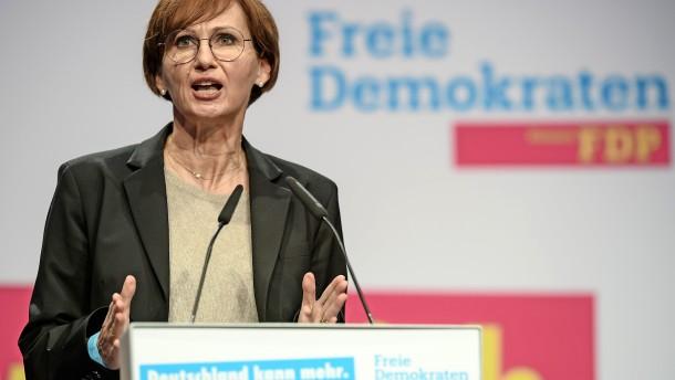 "FDP-Chefin fordert ""maximale Freiheit"""