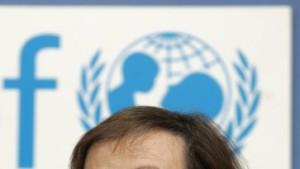 Simonis tritt als Unicef-Vorsitzende zurück