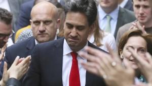 Ed Miliband tritt als Labour-Chef zurück