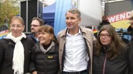 """Höcke fordert """"Rückkehr zur Normalität"""""""