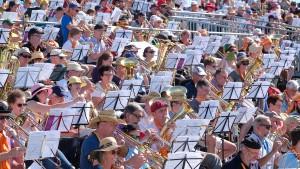Zehntausende feiern Abschlussgottesdienst in Wittenberg