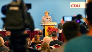 Merkel lobt gute Zusammenarbeit mit SPD