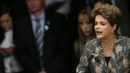 Rousseff sieht Brasilien vor einem Staatsstreich