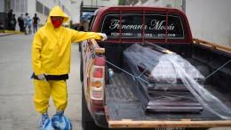 Tote auf Ecuadors Straßen
