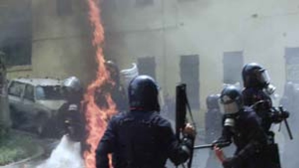 Demonstrant in Genua getötet