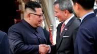 Kim Jong- un ist da
