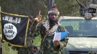 Boko Haram-Anführer Abubakar Shekau am 2. Oktober 2014