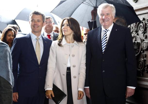 Bild zu: Dänisches Kronprinzenpaar zu Gast in Bayern ...