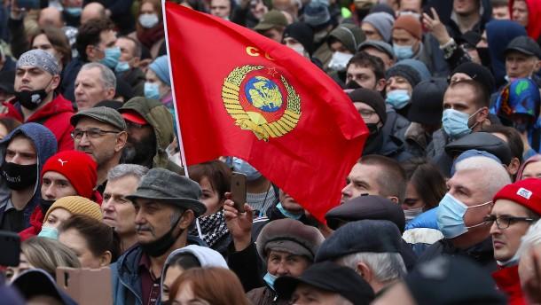 Der Ärger des Kremls mit den Kommunisten