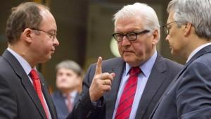 Steinmeier: Scheitert die Initiative, folgt militärische Eskalation