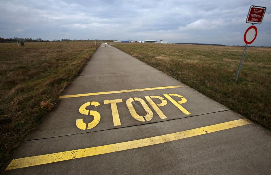 Betrieb eingestellt: Der Fliegerhorst Neubrandenburg-Trollenhagen wurde im Zuge der Neuausrichtung der Bundeswehr Ende 2013 geschlossen