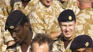 Blairs Überraschungsreise in den Irak