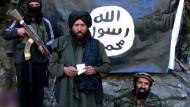 Der IS verbreitet Angst und Schrecken - Bild aus einer mutmaßlichen Videobotschaft
