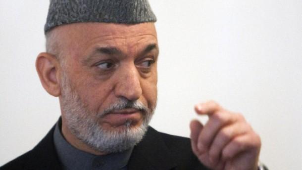 Druck auf Karzai, Unterstützung für Islamabad