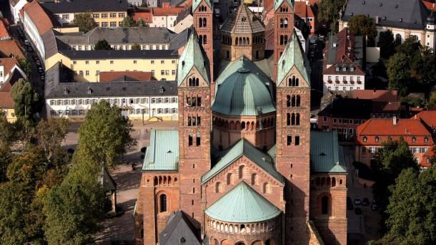 Helmut Kohl besucht Speyerer Kaiserdom
