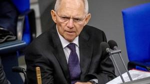 Schäuble will Wahlrecht vor nächster Bundestagswahl ändern