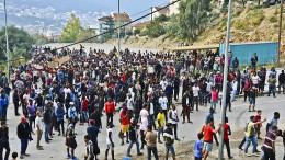 Erpressung, Drohung und Abschreckung auf der Balkanroute