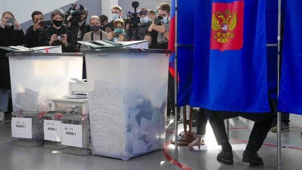 Russland auf dem Weg in die Diktatur