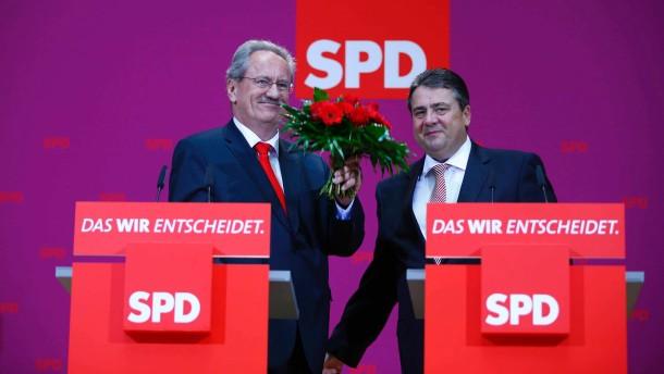 """Gabriel sieht """"positives Signal für Wahlkampfendspurt"""""""