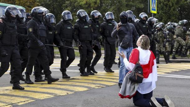 250 Festnahmen bei Massenprotest gegen Lukaschenka