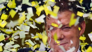 Juan Manuel Santos gewinnt die Präsidentenwahl
