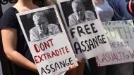 Assange verschiebt öffentlichen Auftritt