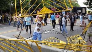 Demonstranten blockieren Parlament in Bangkok