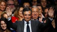 Profiteur des Vorwahl-Trends: François Fillon, der Kandidat der französische Konservativen für die Präsidentenwahl