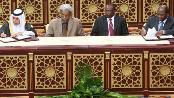 Kritik am Friedensabkommen für Darfur