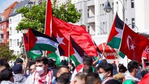 Mit Palästinensern solidarisiert