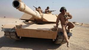 Amerika will erstmals Kampfpanzer einsetzen