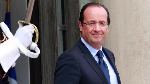 Absolute Mehrheit für Hollandes Sozialisten
