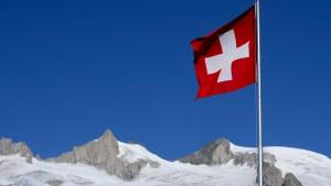 Deutsche Schuldenberge mit Alpenblick