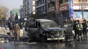 Drei Tote bei Anschlägen in Kabul