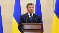 Fabulation ohne Fragen: Janukowitsch in Rostow