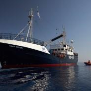 Rettungsschiff Alan Kurdi, hier im Juni 2019 vor Sizilien