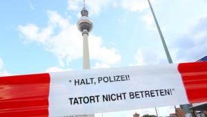 Polizei fasst Messerstecher vom Alexanderplatz